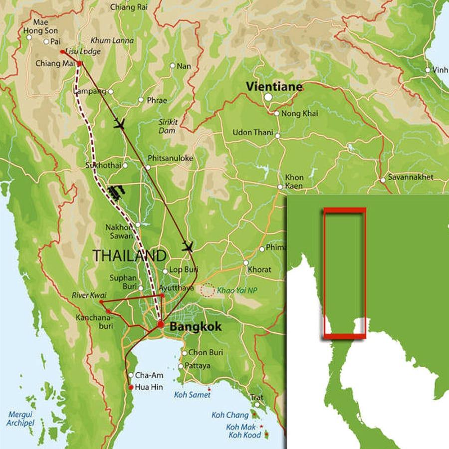 TravelXL-van-Limburg-THAILAND-rondreis-kaart