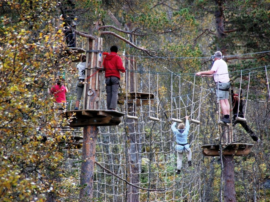 TravelXL-van-Limburg-NOORWEGEN-high-ropes