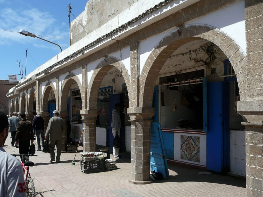 TravelXL-van-Limburg-MAROKKO-Essaouira-winkelstraat