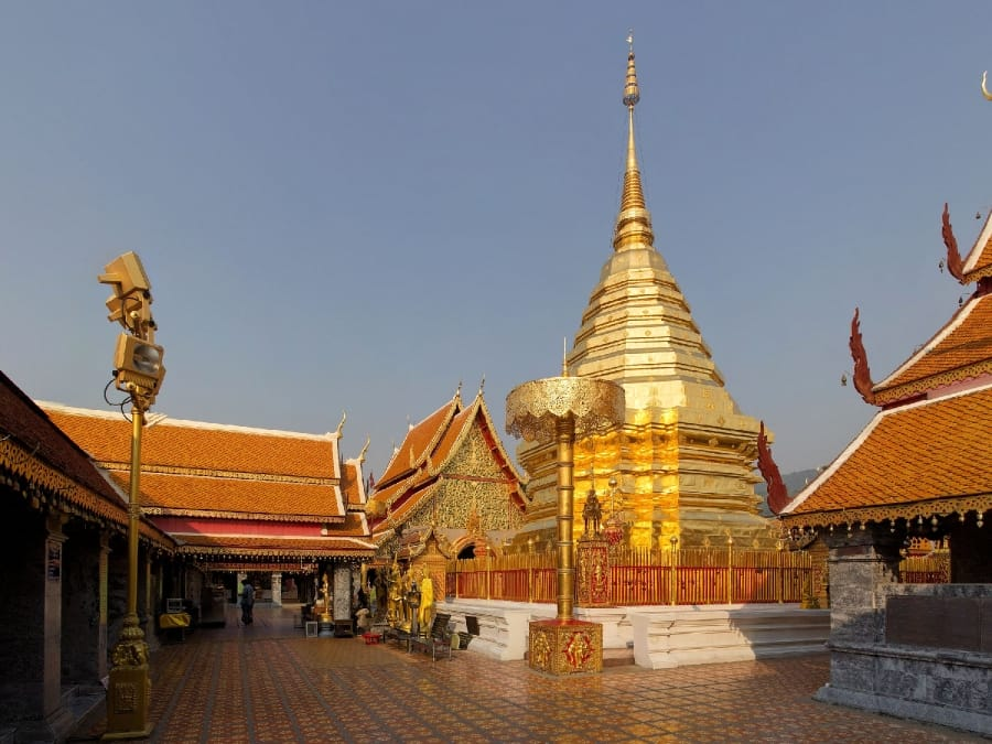 TXL - THAILAND - Chiang Mai - Doi Suthep tempel