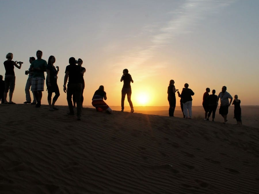 TravelXL-van-Limburg-DUBAI-zonsondergang-woestijn