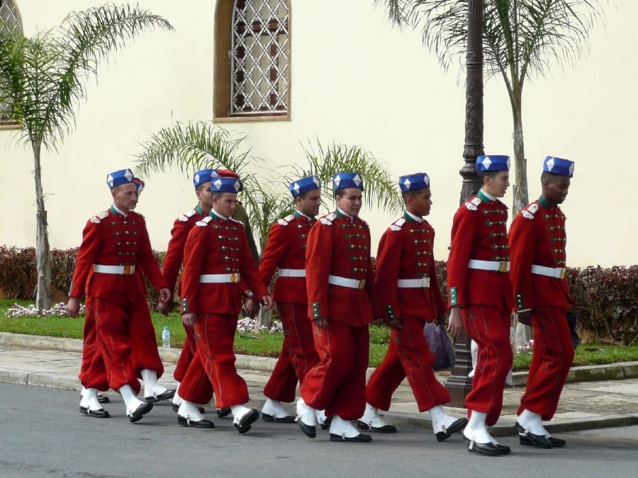 TravelXL-van-Limburg-MAROKKO-Rabat-paleiswachten