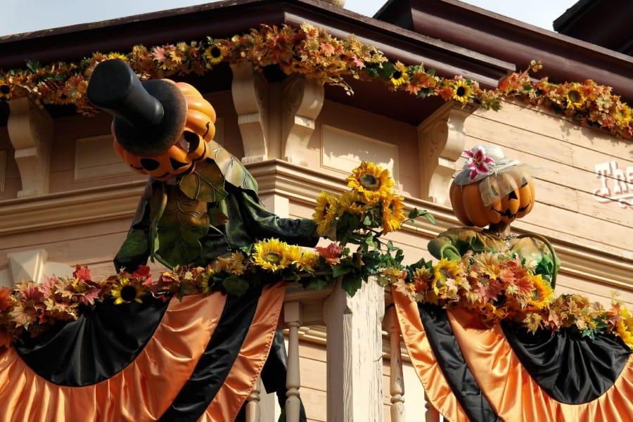 TravelXL-van-Limburg-DISNEYLAND-Halloween-versiering-dak
