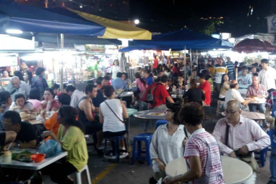 TravelXL-van-Limburg-MALEISIE-Penang-Hawker-Centre-avondmarkt