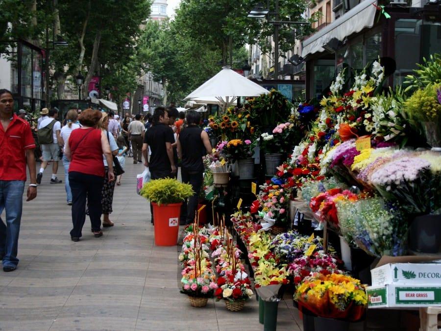 TravelXL-van-Limburg-BARCELONA-Ramblas-bloemenstal