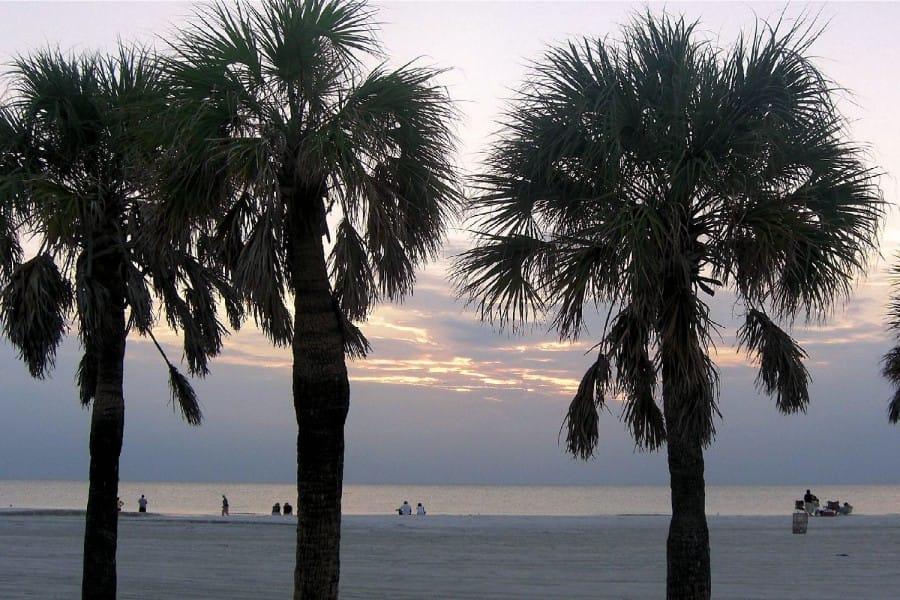 TravelXL-van-Limburg-FLORIDA-Clearwater-strand-avond