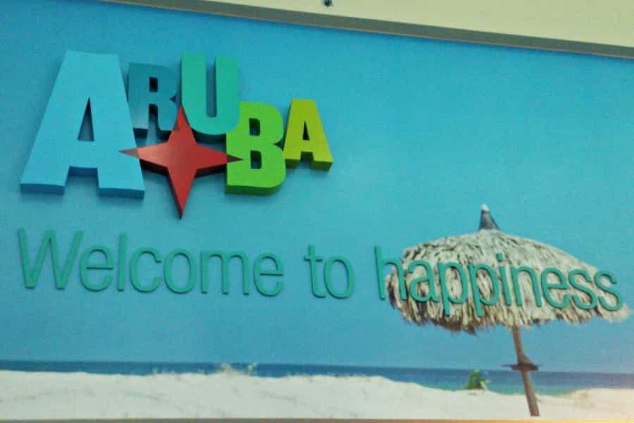 TravelXL-van-Limburg-ARUBA-welkom-bord