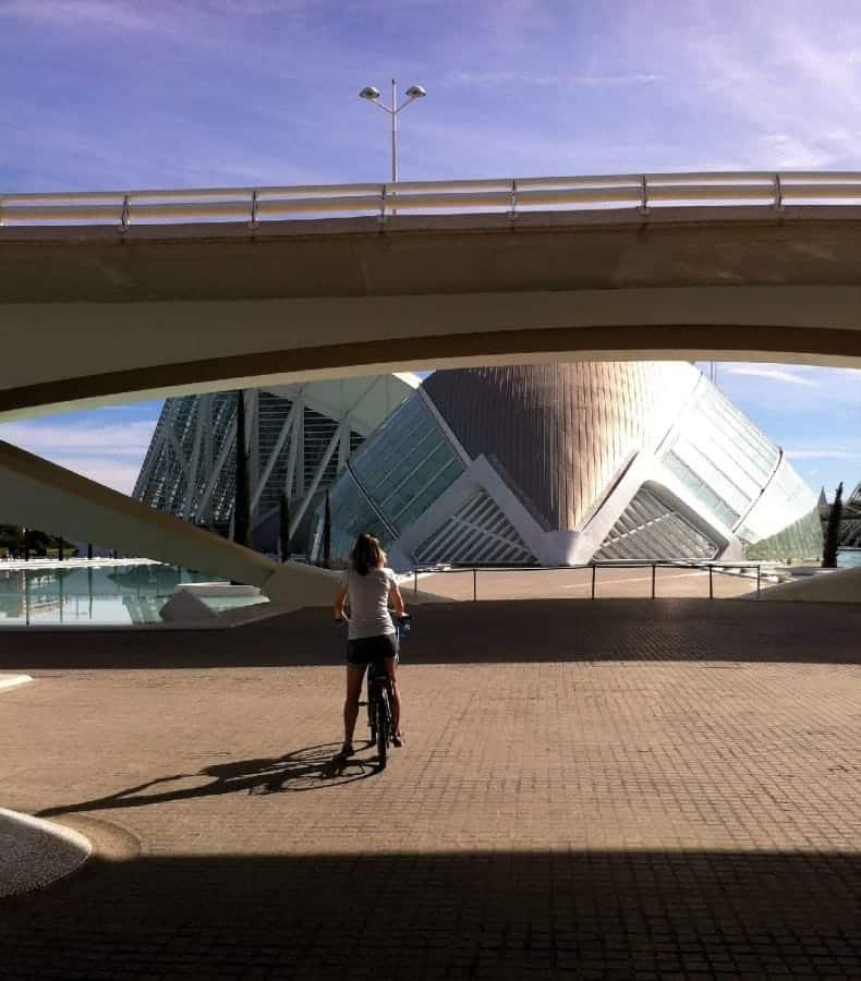 TXL - VALENCIA - Ciudad de las Artes op fiets