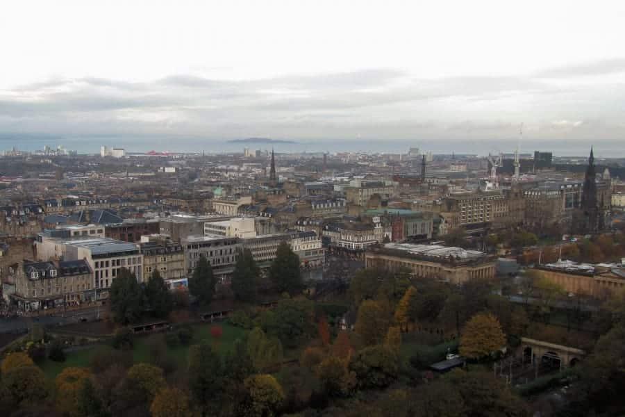 TravelXL-van-Limburg-EDINBURGH-uitzicht-Edinburgh-Castle