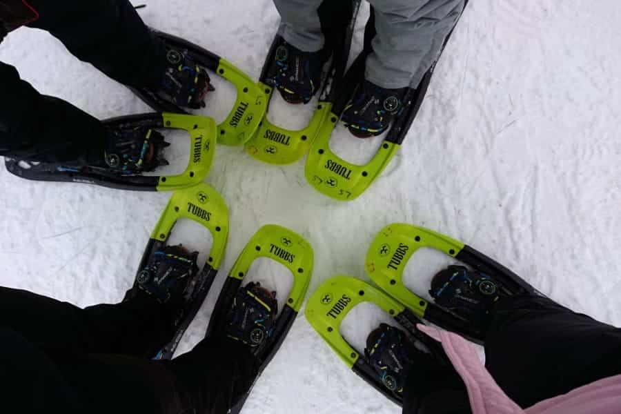 travelxl-van-limburg-fins-lapland-sneeuwschoenenwandeling